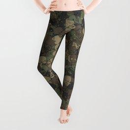 Skull camouflage Leggings