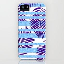 Tropical Stripe iPhone Case