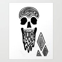 BrainMelt Art Print