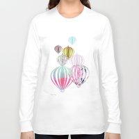 ballon Long Sleeve T-shirts featuring Ballon by Lydia Wienberg