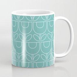 MCM Tulip Aqua Coffee Mug