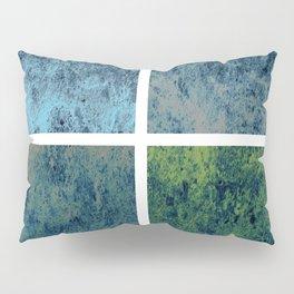 Blue Hellfire Pillow Sham