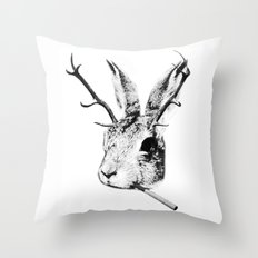 Sargeant Slaughtered Throw Pillow