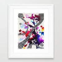 splash Framed Art Prints featuring Splash by DuckyB