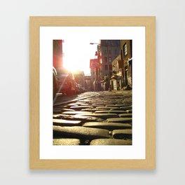 CobbleStone II Framed Art Print