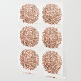 Rose Gold Burst Wallpaper