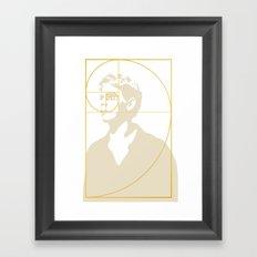 Stay Gold, Ponyboy Framed Art Print