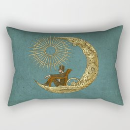 Moon Travel Rectangular Pillow