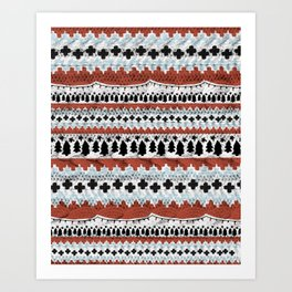 Not-So-Ugly Christmas Sweater Art Print
