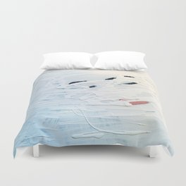 Traces of You Duvet Cover
