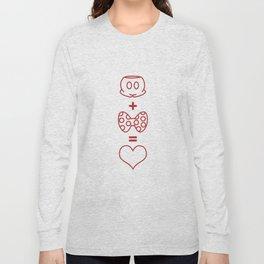 Mickey loves Minnie Long Sleeve T-shirt