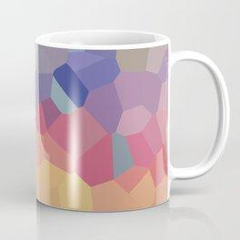 Pastel Geometric Moon Rise Coffee Mug