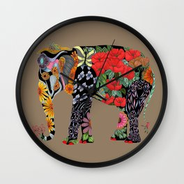 Ms. Ele Phant Wall Clock