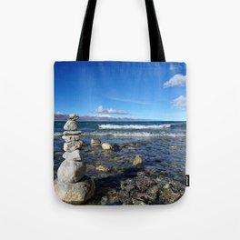 Heavenly Lake Namtso Tibet Tote Bag