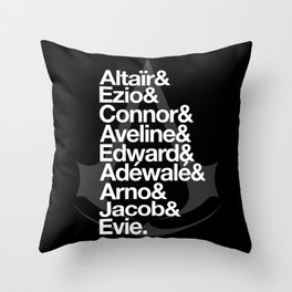 Creed Throw Pillow