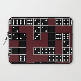 Domino Pattern Laptop Sleeve