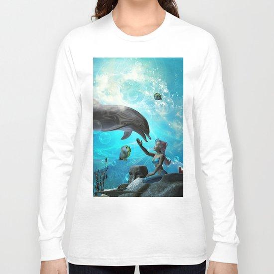 Cute mermaid  Long Sleeve T-shirt