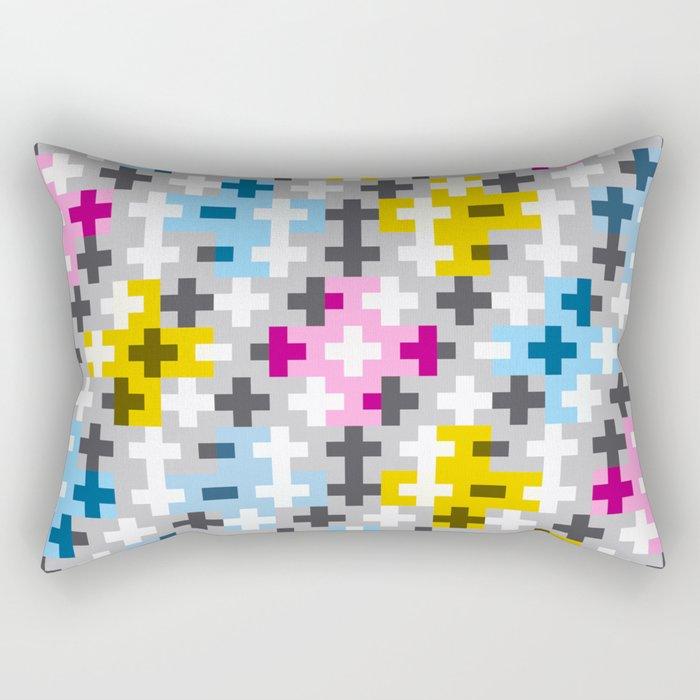 Tripple Cross Rectangular Pillow