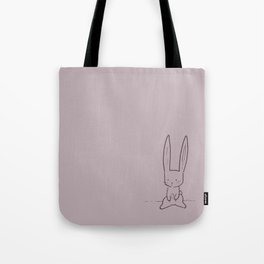 Poor li'l bunny boo Tote Bag