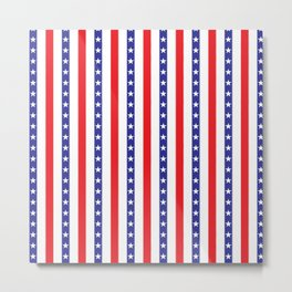Stars and Stripes Metal Print