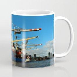 Container Ship Coffee Mug