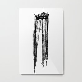 VERTEBRAE Metal Print