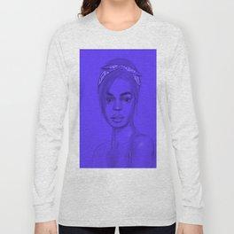 Joan in purple Long Sleeve T-shirt