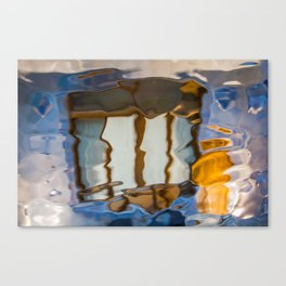 Gaudi Abstract Glass Reflections Canvas Print