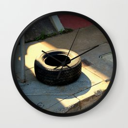 Catching Some Rays Wall Clock