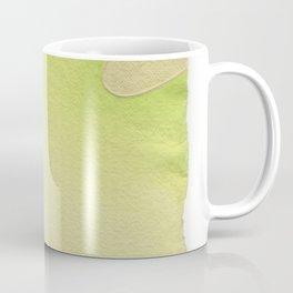 abstract lines on handmade paper Coffee Mug