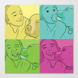 Tori and Samwise Canvas Print