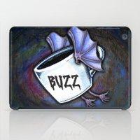buzz lightyear iPad Cases featuring BUZZ by 2headedsnake
