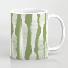 Tie Dye no. 2 in Green  Coffee Mug