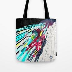 Faster than GAME OVER v1.0 +ART PRINT DESIGN+ Tote Bag