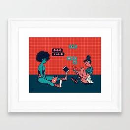 Millennial Mamas Framed Art Print
