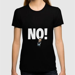 No! no.1 white T-shirt