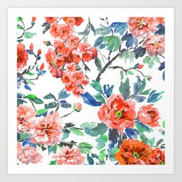 FLORAL - 18118/1 Art Print