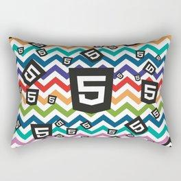 HTML5 WEBSITE DEVELOPMENT CODING PATTERN Rectangular Pillow