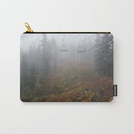 Foggy mountains fall morning Carry-All Pouch