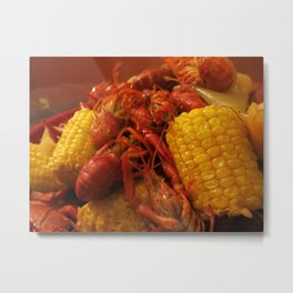 Crawfish Boil Metal Print
