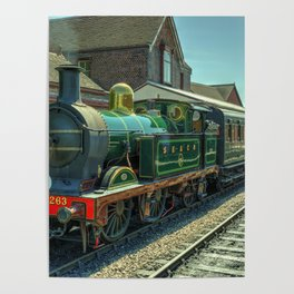 H class at Sheffield Park Poster