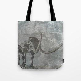 Half Tone Mammoth Tote Bag