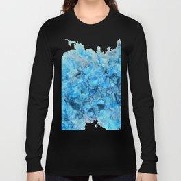Polar- Alcohol Ink Painting Long Sleeve T-shirt
