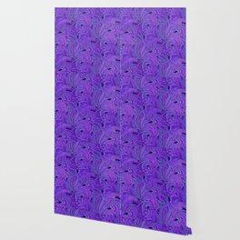 paisley paisley purple Wallpaper