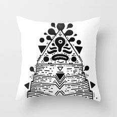 sadbooyz trang Throw Pillow