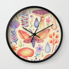 Et coloris natura IV Wall Clock