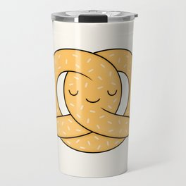 Happy Pretzel Travel Mug