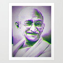 Mahatma Gandhi Art Print