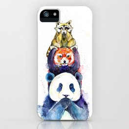 Pandamonium iPhone Case