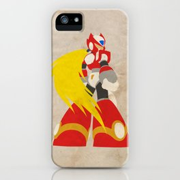 I'm a Maverick (Hunter) (Megaman Zero) iPhone Case